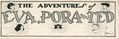 Adventures of Eva, Pora and Ted (1932) 1948