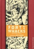 Forty Whacks and Other Stories HC (2015 Fantagraphics) The EC Library 1-1ST