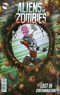 Aliens vs. Zombies (2015 Zenescope) 3A