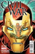 Civil War (2015 Marvel) Secret Wars 1NEWBURY