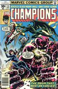 Champions (1975 Marvel) Mark Jewelers 13MJ