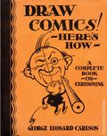 Draw Comics! Here's How HC (1933Whitman Publishing Company) 1