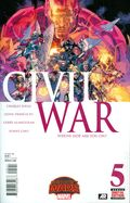 Civil War (2015 Marvel) Secret Wars 5A