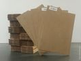 Comic Title Dividers: Cardboard, Brown 65 Pack