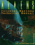 Aliens Colonial Marines Technical Manual SC (1996 HarperPrism Edition) 1-1ST