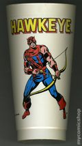 7-Eleven Marvel Super Heroes Collectible Cups (1975 Marvel) HAWKEYE
