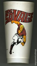 7-Eleven Marvel Super Heroes Collectible Cups (1975 Marvel) DOCSAVAGE