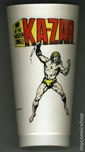 7-Eleven Marvel Super Heroes Collectible Cups (1975 Marvel) KAZAR