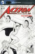 Action Comics (2011 2nd Series) 18D-SKETCH