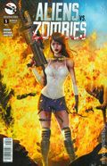 Aliens vs. Zombies (2015 Zenescope) 5C