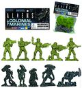 Aliens vs. Colonial Marines Army Builder (2016 Diamond Select) Bag of 35 Figures BAG#1