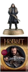 Hobbit The Motion Picture Trilogy Collector's Models (2016 Eaglemoss) Figure and Magazine #02