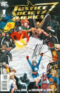 Justice Society of America (2006-2011 3rd Series) 1A-DFSIGNED