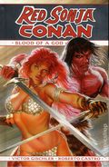 Red Sonja/Conan Blood of a God HC (2016 Dynamite) 1-1ST