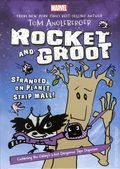 Rocket and Groot: Stranded on Planet Strip Mall HC (2016 Disney Press) A Marvel Book 1-1ST