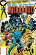 Micronauts (1979 1st Series) Whitman Variants 1