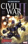Civil War II (2016 Marvel) FCBD 1