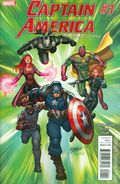 Captain America Road to War (2016) 1A
