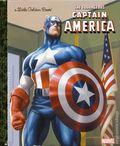 Courageous Captain America HC (2016 A Little Golden Book) 1-1ST