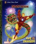 Invincible Iron Man Eye of the Dragon HC (2012 A Little Golden Book) 1-REP
