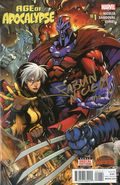 Age of Apocalypse (2015 Marvel) Secret Wars 1A-DFSIGNED