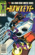 Hawkeye (1983 1st Series) Canadian Price Variant 2