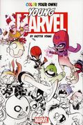 Color Your Own Young Marvel SC (2016 Marvel) By Skottie Young 1-1ST