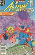 Action Comics (1938 DC) Canadian Price Variant 555