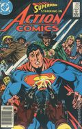 Action Comics (1938 DC) Canadian Price Variant 557
