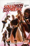 Squadron Supreme TPB (2016 Marvel) By James Robinson 1-1ST