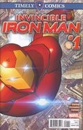 Timely Comics Invincible Iron Man (2016) 1