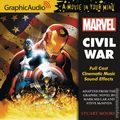 Civil War Audio CD (2016 Marvel/Graphic Audio) ITEM#1