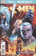 True Believers Extraordinary X-Men Burning Man (2016) 1