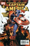 Captain America (2004 5th Series) 1DFSIGNED