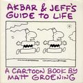 Akbar and Jeff's Guide to Life TPB (1989 Pantheon) A Cartoon Book by Matt Groening 1-REP