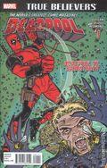 True Believers Deadpool Deadpool Vs Sabretooth (2016) 1