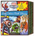 Marvel Super Heroes HC (2016 Random House) A Little Golden Book Library 5-Book Set SET#1