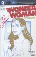 Wonder Woman (2011 4th Series) 19C-SKETCH