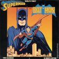 World's Finest Superman and Batman 1990 Calendar (1989 Design Look) 16-Month Edition YR-1990