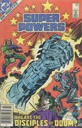 Super Powers (1984 1st Series) Canadian Price Variant 1