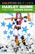 Coloring DC Harley Quinn and Suicide Squad SC (2016 DC) An Adult Coloring Book 1-1ST