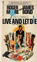 James Bond 007 Live and Let Die PB (1973 A Bantam Books Novel) 1-1ST