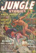 Jungle Stories (1938) Pulp Volume 1, Issue 1