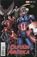 Captain America Road to War (2016) 1D