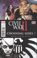 Civil War II Choosing Sides (2016) 5A