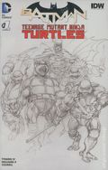 Batman Teenage Mutant Ninja Turtles (2015 DC) 1DFSKETCH