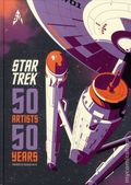 Star Trek 50 Artists/50 Years HC (2016 Titan Books) 1-1ST