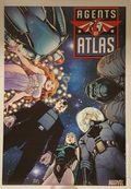 Agents of Atlas Poster by Arthur Adams (2009 Marvel) ITEM#1