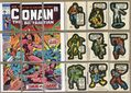 Topps Marvel Comic Book Heroes Sticker Trading Cards (1976) #SET