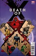Death of X (2016 Marvel) 1E